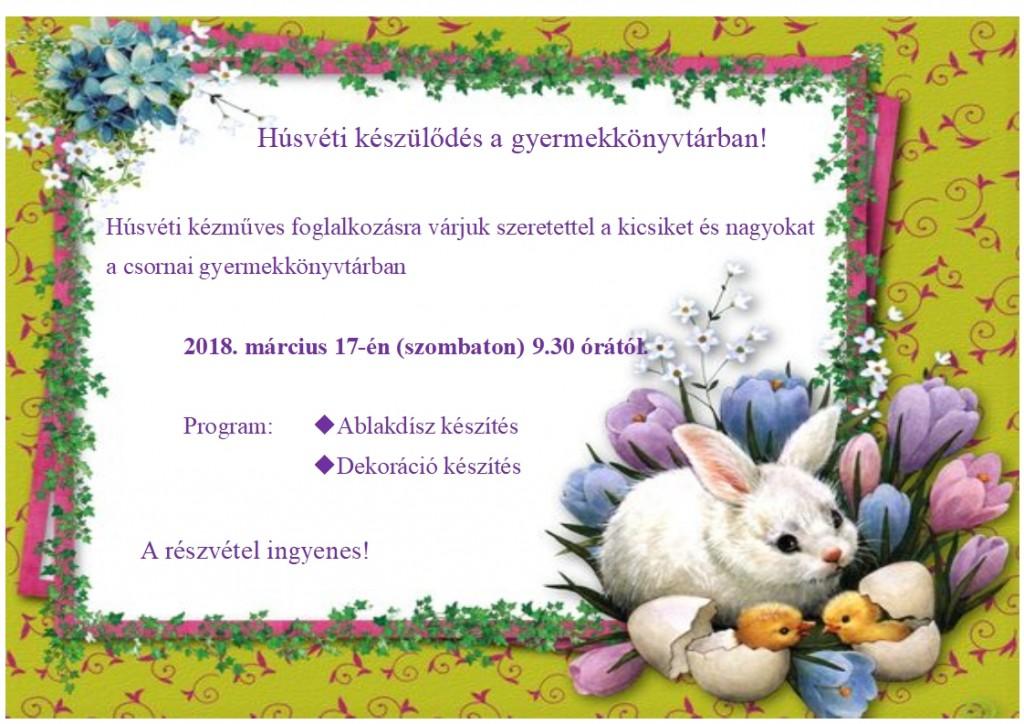 Húsvéti készülődés nagy