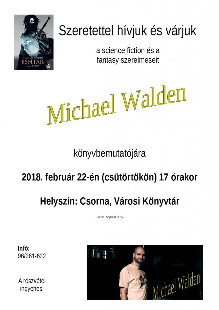 Michael Walden plakát
